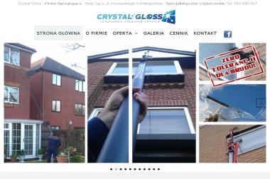 Crystal Gloss innovation cleaning service - Mycie elewacji Stary Sącz