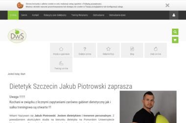 Dietetyk w Szczecinie Jakub Piotrowski - Dietetyk Szczecin