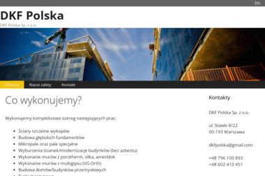DKF Polska - Domy murowane Warszawa