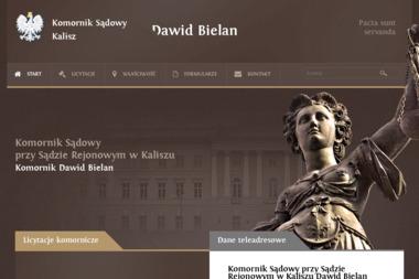 Komornik Sądowy przy Sądzie Rejonowym w Kaliszu DAWID BIELAN - Windykacja Kalisz