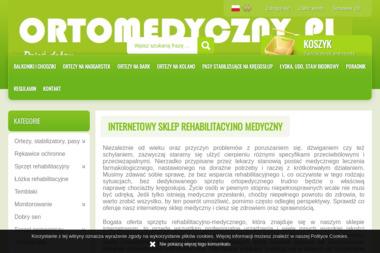 Ortomedyczny.pl - ortopedyczno medyczny sklep internetowy - Oprogramowanie Warszawa