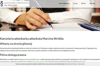 Kancelaria Adwokacka adw. Marcin Wróbel - Adwokat Elbląg