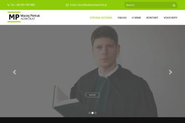 Adwokat Maciej Pietrak - Prawo Rodzinne Łódź