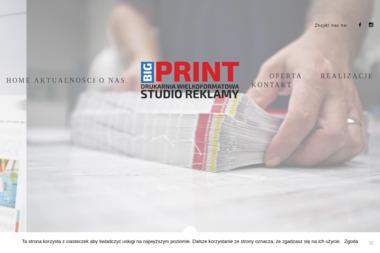 Big-Print-Łukasz Mosakowski - Druk Wielkoformatowy Biłgoraj