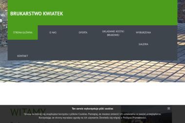 Brukarstwo, nadzór i projektowanie dróg Przemysław Kwiatek, Janusz Kwiatek - Układanie Kostki Brukowej Nowe Brzesko