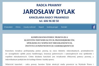 Kancelaria Radcy Prawnego Jarosław Dylak - Windykacja Wieruszów