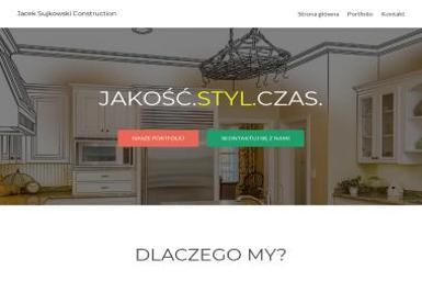 Jacek Sujkowski Construction - Szpachlowanie Warszawa