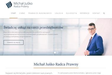 Michał Juśko Radca Prawny - Radca prawny Gliwice