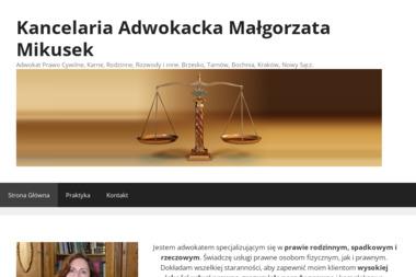 Kancelaria Adwokat Małgorzata Mikusek (Piłkowska) - Adwokat Brzesko