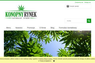konopnyrynek.pl - Medycyna naturalna Bielsko-Biała