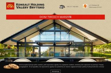 Konsalt Holding - Domki Holenderskie Warszawa