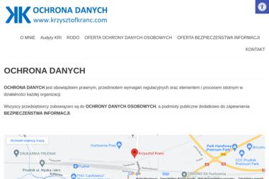 Krzysztof Kranc - Biznes plan Prudnik