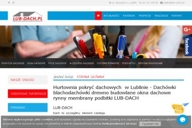 Lub-Dach sp.j. - Pokrycia dachowe Lublin