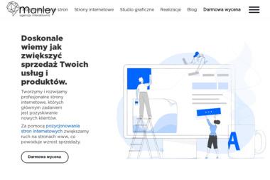 Agencja Interaktywna Manley Mariusz Mańkowski - Sklepy Internetowe Ciechanów