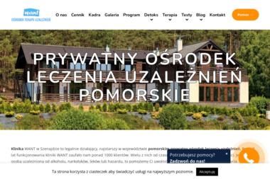 Ośrodek Leczenia Uzależnień WANT - Terapia uzależnień Brodnica Górna