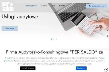 Firma Audytorsko-konsultingowa Per Saldo Sp. z o.o. - Rachunki bankowe Szczecin
