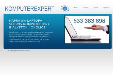 Komputerexpert - Pogotowie Komputerowe Białystok - Studio Graficzne Białystok