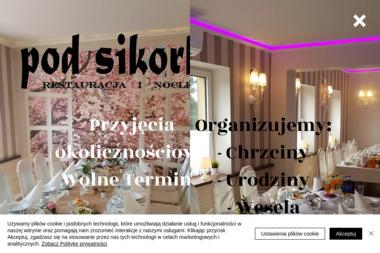 Restauracja Pod Sikorką - Gastro-Max s.c Dzitkowski&Swoboda - Usługi Gastronomiczne Kobiór