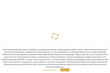AmigosBeton Sp. z o.o. Sp.k. - Wylewka Jastrychowa Wszemirów