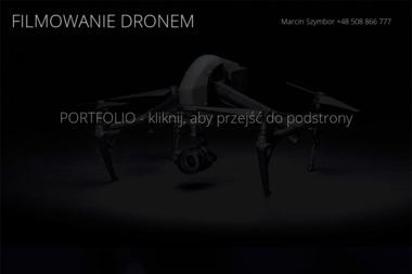 FILMOWANIE DRONEM Marcin Szymbor - Wideofilmowanie Kobyłka