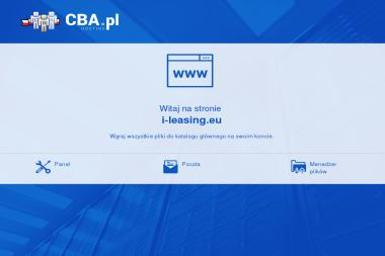 I-LEASING.EU - Leasing samochodu Jelenia Góra