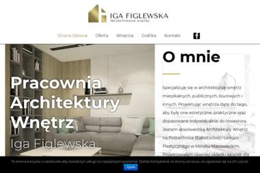 Iga Figlewska Projektowanie Wnętrz - Architekt wnętrz Sokołów Podlaski