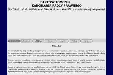 Kancelaria Radcy Prawnego Bartosz Tomczuk - Adwokat Kalisz