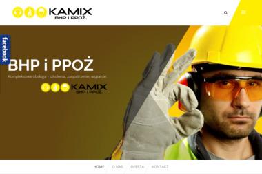 Kamix BHP i PPOŻ - Szkolenie Wstępne BHP Poręba