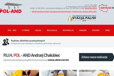 P.U.H POL-AND Andrzej Chałubiec - Posadzki przemysłowe Miasteczko Śląskie