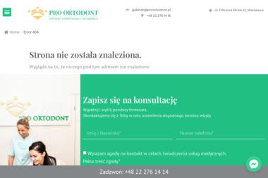 PRO ORTODONT - Ortodonta Warszawa