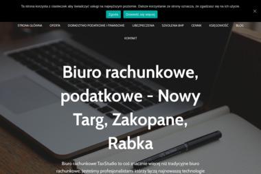 Biuro Rachunkowe Taxstudio mgr Piotr Blacharczyk - Biuro rachunkowe Nowy Targ