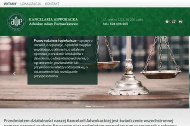 KANCELARIA ADWOKACKA ADWOKAT ADAM FURMANKIEWICZ - Prawo Rodzinne Jasło