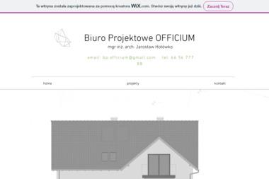 Biuro Projektowe OFFICIUM mgr inż. arch. Jarosław Hołówko - Projektowanie inżynieryjne Nysa