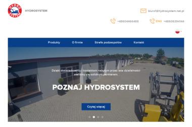 Zakład Hydrauliki Siłowej Hydrosystem Doroszko Kazimierz - Maszyny budowlane Kostrzyn nad Odrą