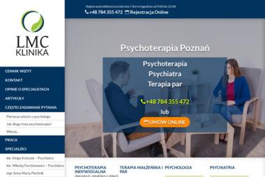 Prywatna Poradnia Psychologiczna - Klinika LMC - Terapeuta Uzależnień Poznań