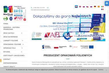 MarDruk Opakowania sp. z o.o sp. k. - Opakowania Jednorazowe Wieprz