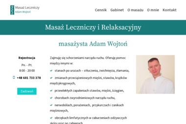 Masaż Leczniczy Adam Wojtoń - Rehabilitant Starogard Gdański