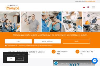 Projekt Uśmiech Centrum Dentystyczne - Stomatolog Gdańsk