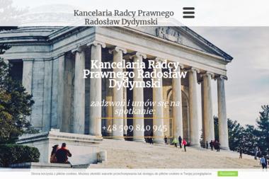 Kancelaria Radcy Prawnego Radosław Dydymski - Obsługa prawna firm Środa Wielkopolska