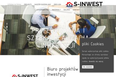 S-INWEST Biuro projektów i realizacji inwestycji - Projekty domów Zabór