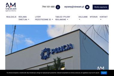 Viewam - producent reklam zewnętrznych - Materiały reklamowe Bytom