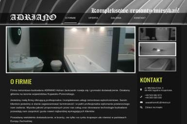 ADRIANO kompleksowe remonty mieszkań - Remonty biur Sępólno Krajeńskie