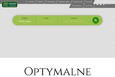 DG-INWEST Finanse S.A - Oddział Pruszkow - Sprawozdania Finansowe Pruszków