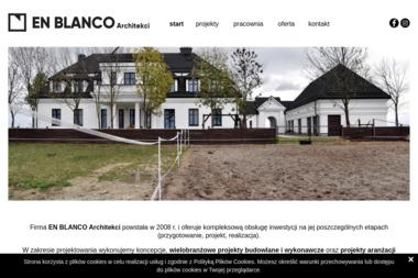 EN BLANCO Architekci - Projekty domów Sosnowiec