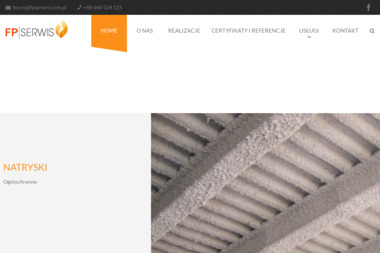 FP SERWIS - Piaskowanie Konstrukcji Osiek