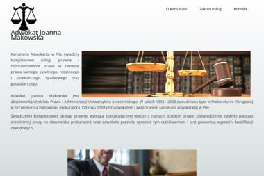 Kancelaria Adwokacka Joanna Makowska - Adwokat Piła