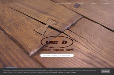 LeLegar. Schody i podłogi z drewna, wykonywane na indywiduakne zamówienie. - Schody Kręcone Gręboszów