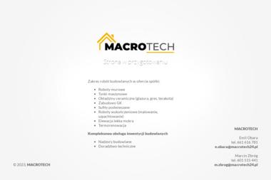 Macrotech Sp z o.o. Sp. Komandytowa - Układanie paneli i parkietów Kielce