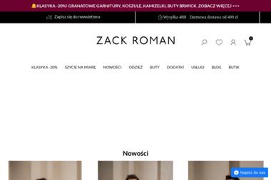 zackroman.com - Odzież męska Warszawa