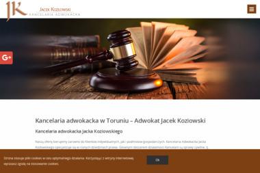 Kancelaria Adwokacka Jacek Kozłowski - Prawo cywilne Toruń